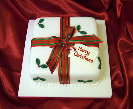 Unique Christmas Cake Decorating Ideas : Sweet Unique   Christmas Cakes