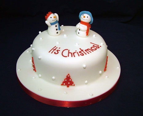 Unique Christmas Cake Decorating Ideas : Sweet Unique   Valentines & Xmas Cakes